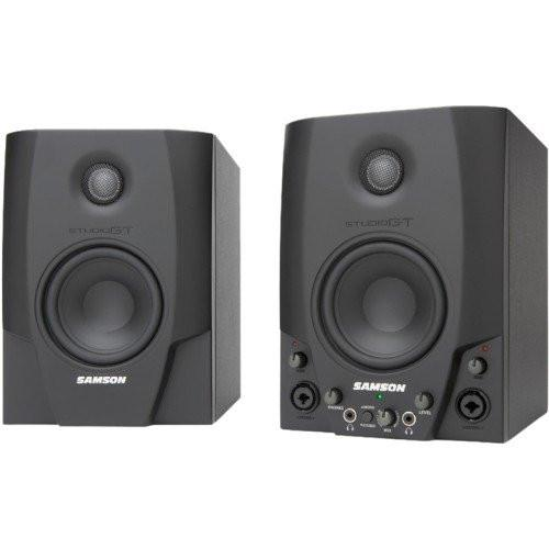 Samson SASGT4 Samson Studio GT Active Studio Monitors with USB Audio Interface