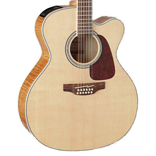 Takamine GJ72CE-12 NAT Jumbo Cutaway 12-String Acoustic-Electric Guitar