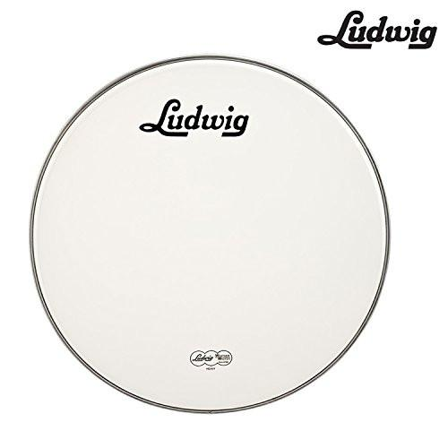 "Ludwig Vintage Logo 22"" Resonant Bass Drum Head (LW4222V)"