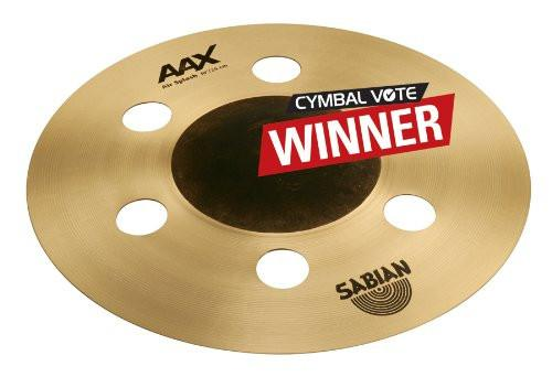 Sabian 21005XA 10-Inch AAX Air Splash Effect Cymbal