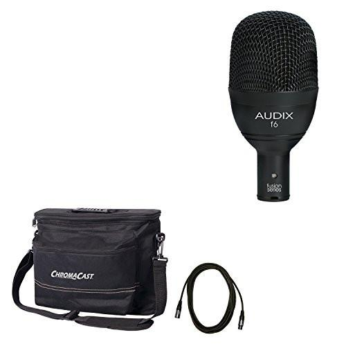 Audix f6 Dynamic Instrument Microphone with ChromaCast Musician's Gear Bag