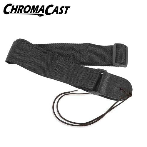 ChromaCast Black Nylon Guitar Strap