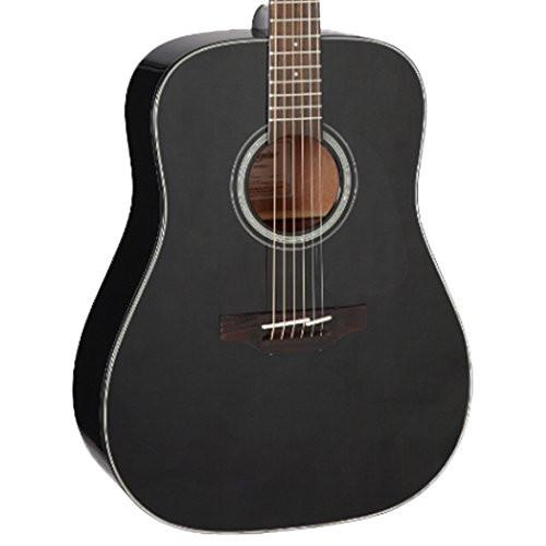 Takamine GD30CE BLK Dreadnought Acoustic Guitar, Black