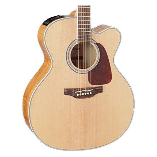 Takamine GJ72CE NAT Jumbo Cutaway Acoustic-Electric Guitar, Natural