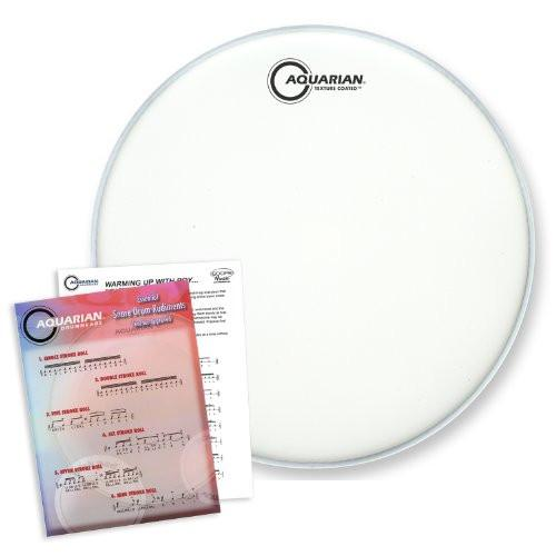 "Aquarian 14"" Texture Coated Snare Drumhead"