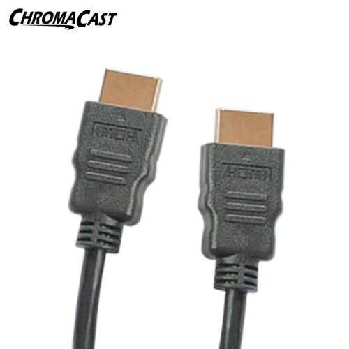 ChromaCast High-Speed HDMI Cable (3 Feet) - Supports Ethernet, 3D, and Audio Return