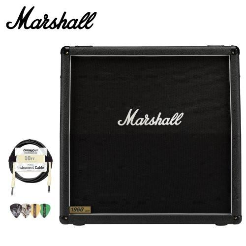 Marshall 1960A 300W 4x12 Guitar Speaker Cabinet Kit - Includes Cable & Pick Sampler