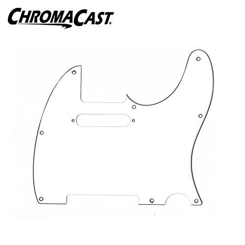 ChromaCast 3 Ply White Tele Style Pickguard
