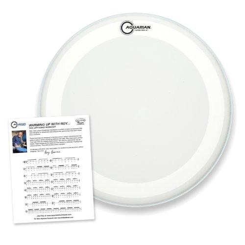 "Aquarian 24"" Clear Double Ply Super Kick Bass Drumhead"