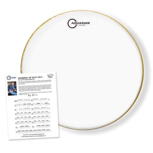 "Aquarian 13"" Force Ten Clear Drumhead"