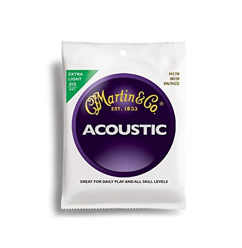 C.F. Martin & Co. M170 80/20 Bronze Acoustic Guitar Strings - Extra Light