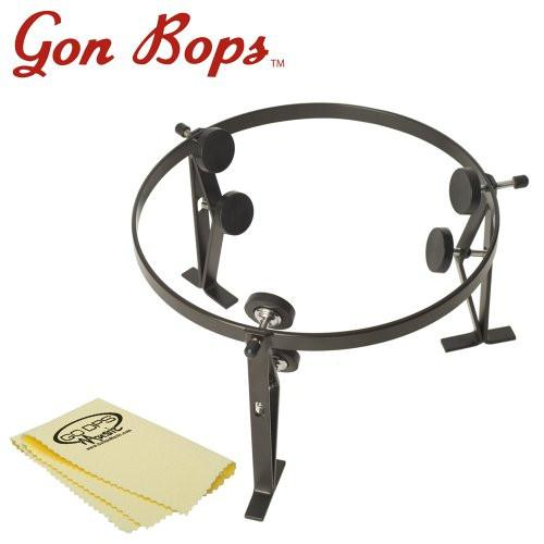 Gon Bops Low Quinto Cradle (ST1QU) with GoDpsMusic Polish Cloth