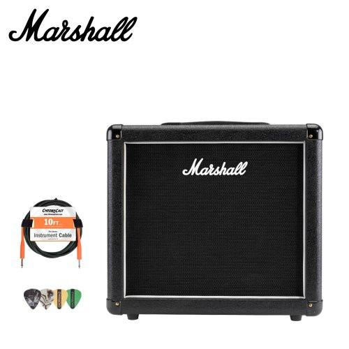 Marshall MX112 Guitar Speaker Cabinet with Accessories