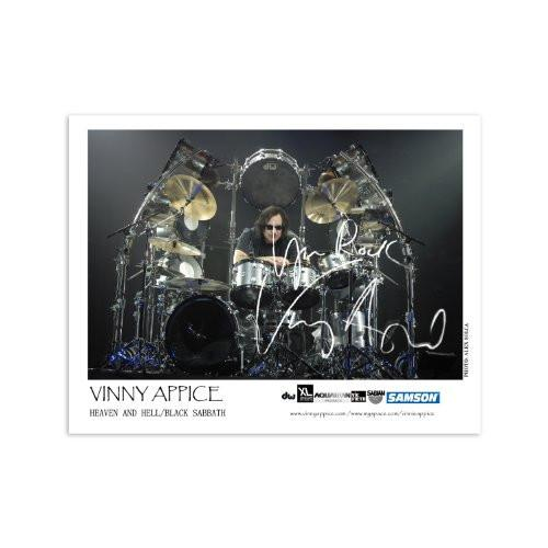 Vinny Appice Heaven & Hell Autographed 2009 Mini Poster (8.5x11) - Color