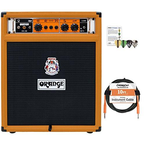 Orange OB1-300 COMBO Bass Amp Combo with ChromaCast Accessories