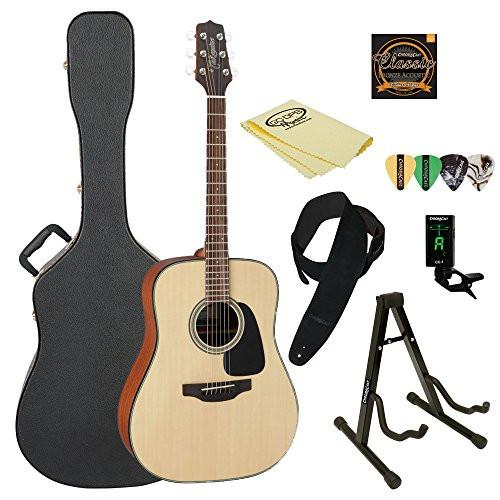 Takamine GD10 Acoustic Guitar, with ChromaCast Acoustic Hard Case & Accessories