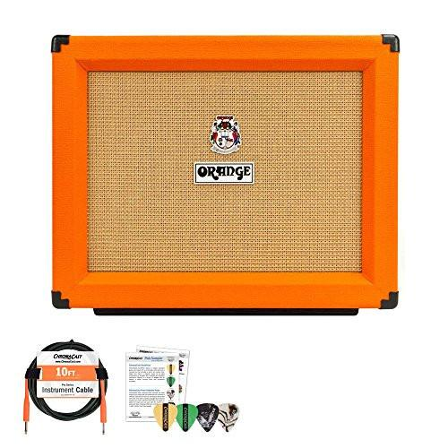 "Orange PPC 112 1x12"" Speaker Enclosure - Includes: ChromaCast 10ft Cable & Pick Sampler"