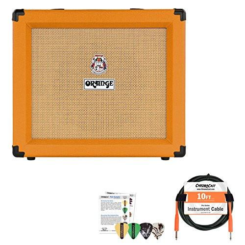Orange Crush 35RT Combo Guitar Amp with Cable and Pick Sampler