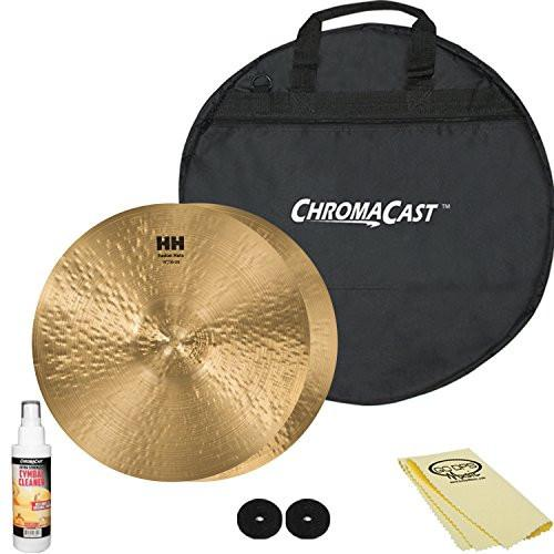 "SABIAN HH Remastered 14"" HH Fusion Hi-Hats (11450) with ChromaCast 20"" Cymbal Bag & Accessories"