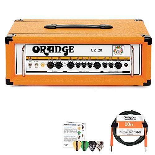 Orange Crush Pro 120 Watt Amp Head with Cable and Pick Sampler