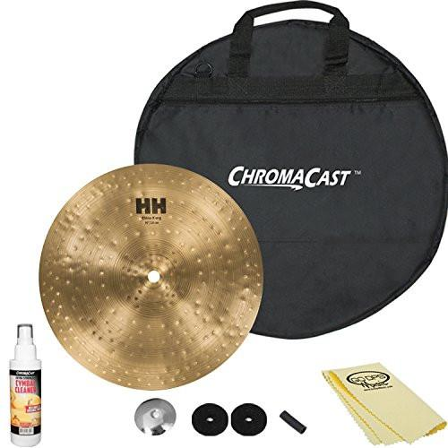 "SABIAN HH Remastered 10"" HH China Kang (11067) with ChromaCast 20"" Cymbal Bag & Accessories"