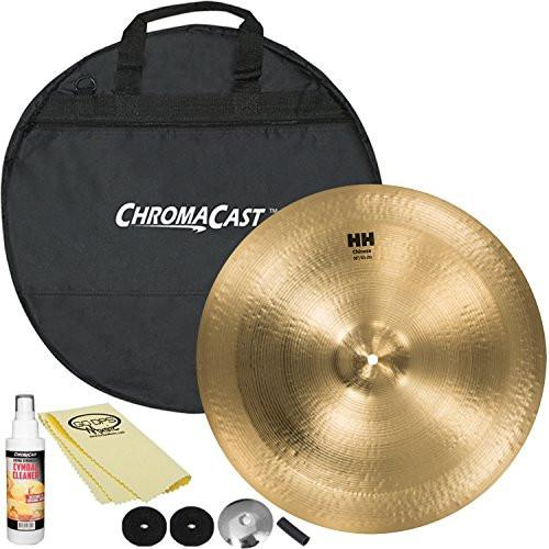 "SABIAN HH Remastered 18"" HH Chinese (11816) with ChromaCast 20"" Cymbal Bag & Accessories"