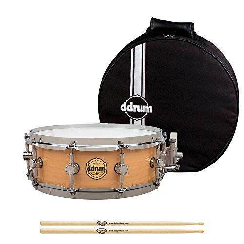 ddrum Vintone Arbor 5x14 Snare Drum with ddrum Snare Bag
