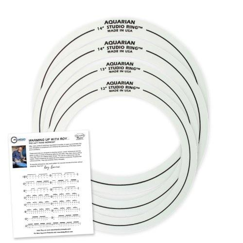 "Aquarian Studio Rings 12"", 13"", 14"", 16"" Set Pack"