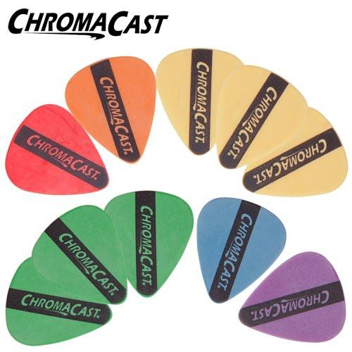 ChromaCast Guitar Pick Packs (10 Pack Durapick, Assorted)