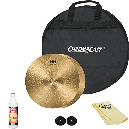 "SABIAN HH Remastered 13"" HH Fusion Hi-Hats (11350) with ChromaCast 20"" Cymbal Bag & Accessories"