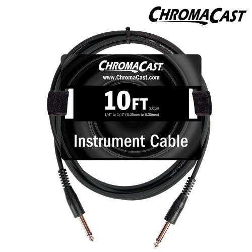 ChromaCast 10ft Instrument Cable with Molded Ends, Straight - Straight