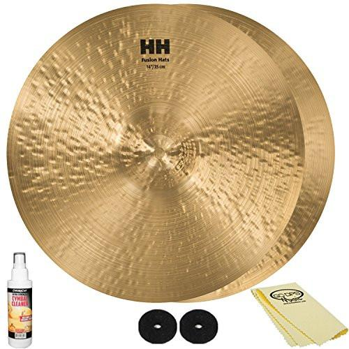 "SABIAN HH Remastered 14"" HH Fusion Hi-Hats (11450) with Accessories"