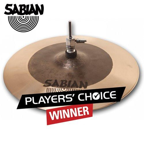 "Sabian HHX 14"" Click Hat Cymbal - Players' Choice Winner!"
