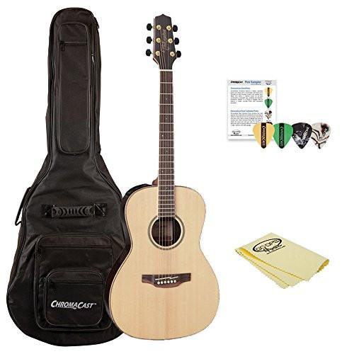 Takamine GY93E New Yorker Acoustic-Electric Guitar, with ChromaCast Gig Bag & Pick Sampler
