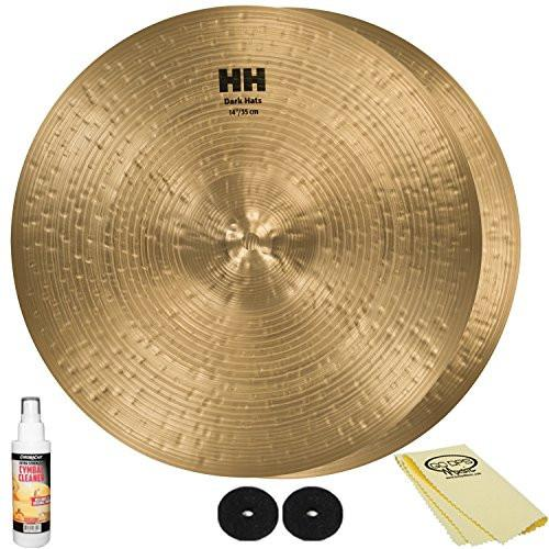 "SABIAN HH Remastered 14"" HH Dark Hi-Hats (11473) with Accessories"
