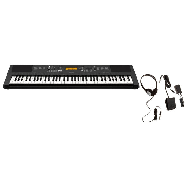 Yamaha PSR-EW300 76-Key Portable Keyboard with Survival Kit