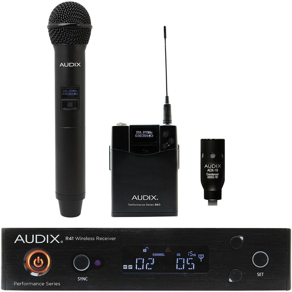 Audix AP41 OM2 L10A Lavalier Wireless Microphone System