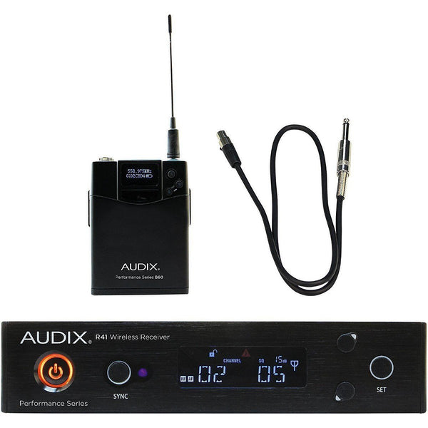 Audix AP41 GUITAR Instrument Wireless Microphone System