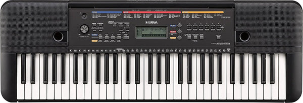 Yamaha PSRE263 61-Key Portable Keyboard