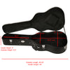 ChromaCast Acoustic Dreadnought Hard Shell Guitar Case with Pick Sampler