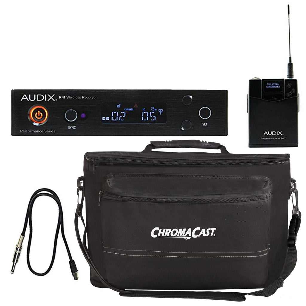 Audix AP41 GUITAR Instrument Wireless System with ChromaCast Gear Bag