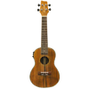Sawtooth Koa/Acacia Concert-Electric Ukulele with Preamp, Natural Satin