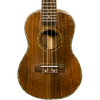 Sawtooth Koa/Acacia Soprano Ukulele with Quick Start Guide & ChromaCast Accessories, Natural Satin