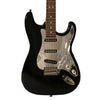 Sawtooth Black ES Series Electric Guitar w/ Chrome Pickguard - Includes: Accessories, Gig Bag & Lesson