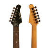 Sawtooth Black ES Series Electric Guitar w/ Black Pickguard - Includes: Accessories, Gig Bag & Lesson