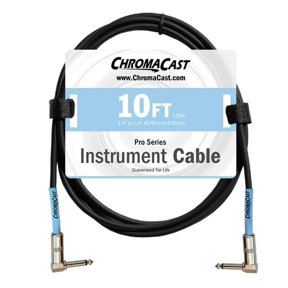 ChromaCast Pro Series Instrument Cable, Angle - Angle