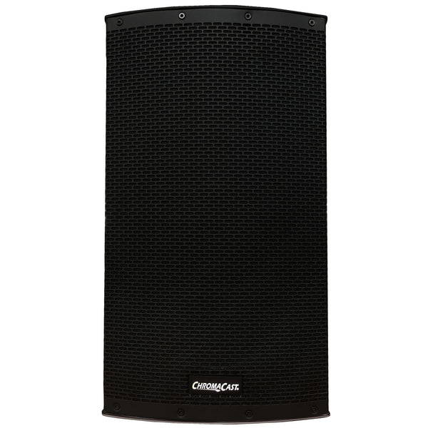 "Chromacast 2-way 15"" Passive/Active PA Speaker System"