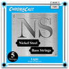 ChromaCast Nickel Steel 5-String Bass Guitar Strings, 40-128, Light, 2 Packs