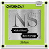 ChromaCast Nickel Steel 5-String Bass Guitar Strings, 48-128, Medium, 2 Packs