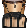 ChromaCast 7A USA Hickory Drumsticks, 12 Pairs with Drumstick Bag
